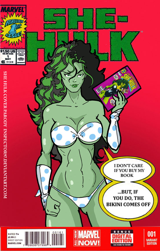 She Hulk Cover Parody by Inspector97
