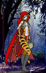 Little Red Riding Tiger