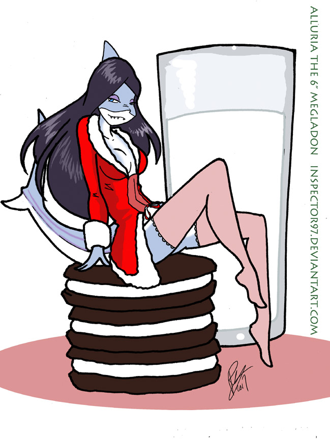 Alluria The Shark Girl by Inspector97