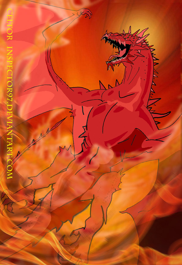 Celtor The Red Dragon by Inspector97