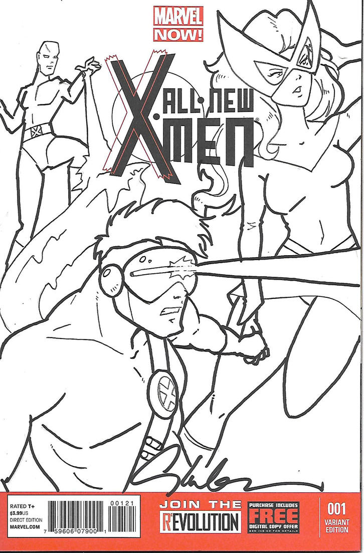 X-Men Cover by Inspector97