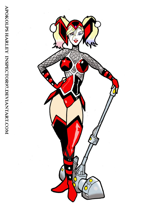 Harley of Apokolips by Inspector97