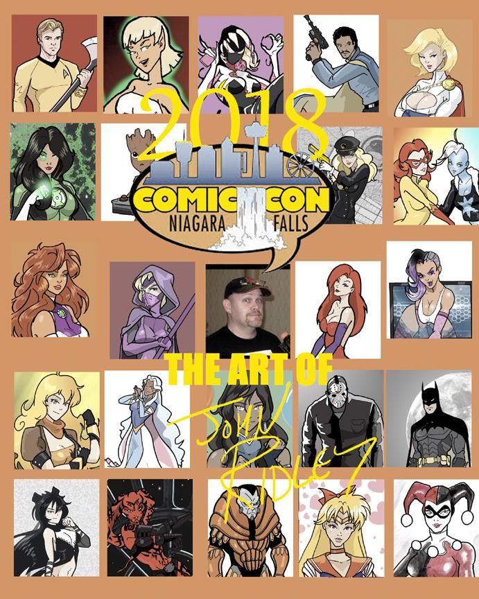 Niagara Falls Comic Con by Inspector97