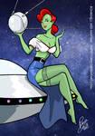 Bombshell Miss Martian by Inspector97