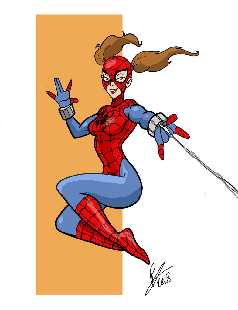 Spidergirl by Inspector97