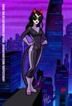 Dana Tan as Catwoman Beyond