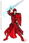 Red Dragon Knight  Arden Griff