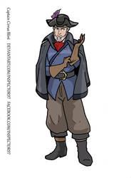 Captain Cirrus Blint by Inspector97