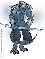 Quaggaroth the Ice Demon by Inspector97