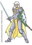 Kyrus Half Drow Paladin