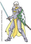 Kyrus Half Drow Paladin by Inspector97