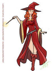 Timothy Brannan Larina Witch by Inspector97