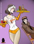 Rogue's Summer Job by Inspector97