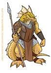 Rusty Gold Dragonborn