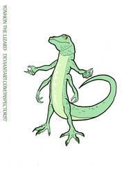 Yonhon the Lizard