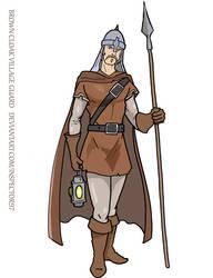 Brown Cloak Guard