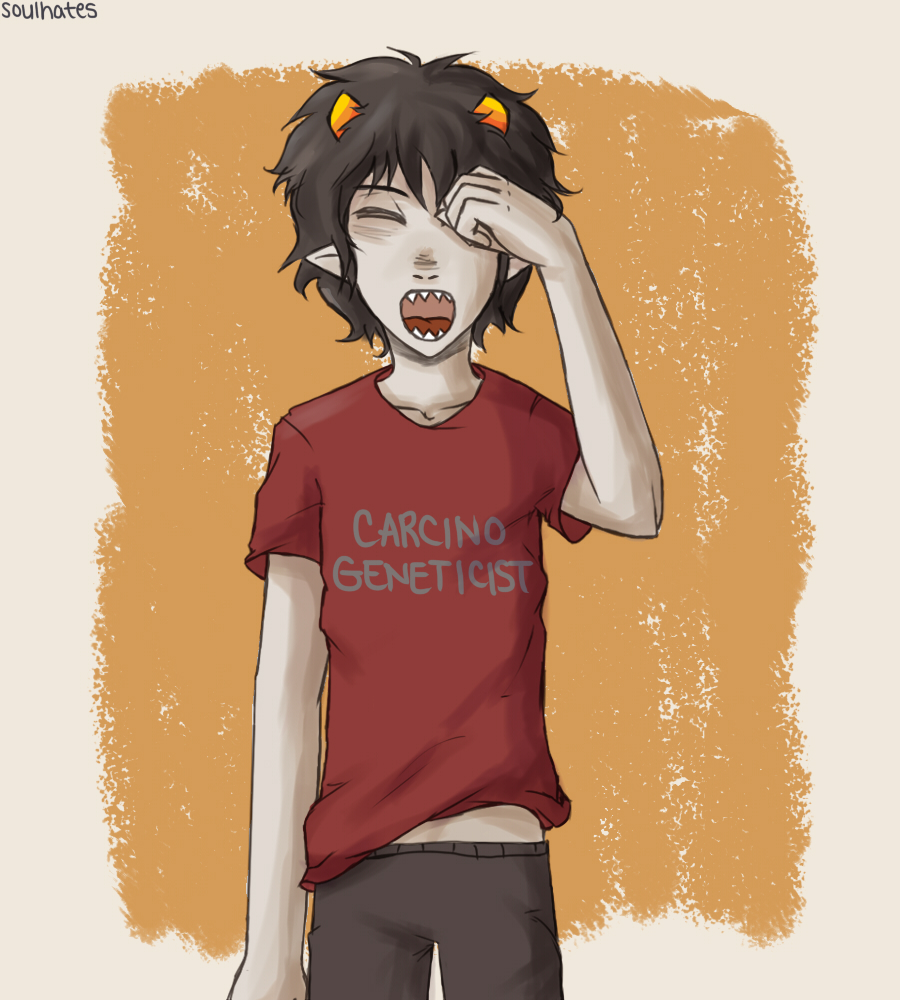 Wake Up, Karkat by soulhates