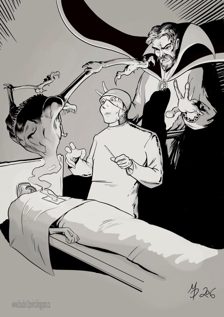 Dr Strange: The Consult by ArtKicksMyAss