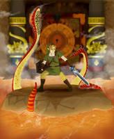 Skyward Sword Lava Battle by TheCongressman1