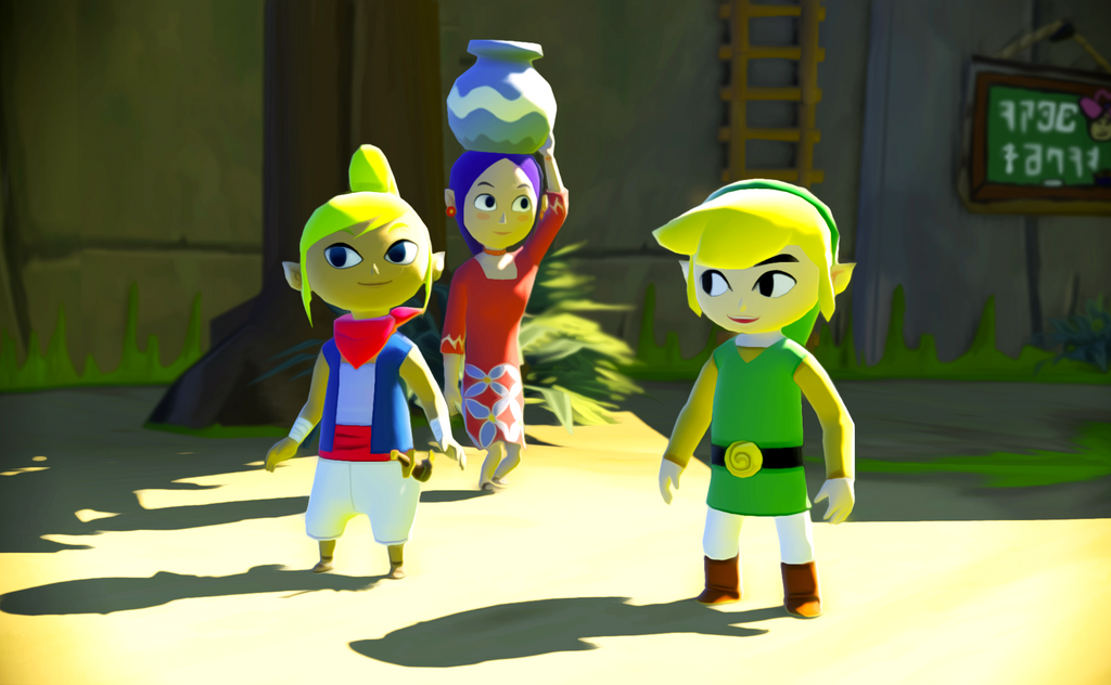 Wind Waker HD Wallpaper 1 by TheCongressman1