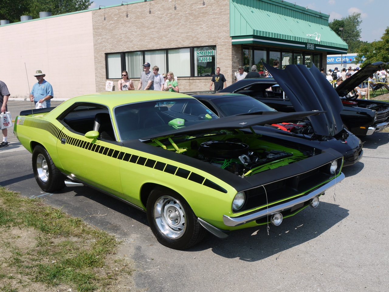 Muscle Car Plymouth Barracuda By Thecarloos On Deviantart