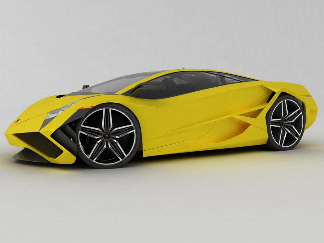 Lamborghini Concept Side by TheCarloos on DeviantArt