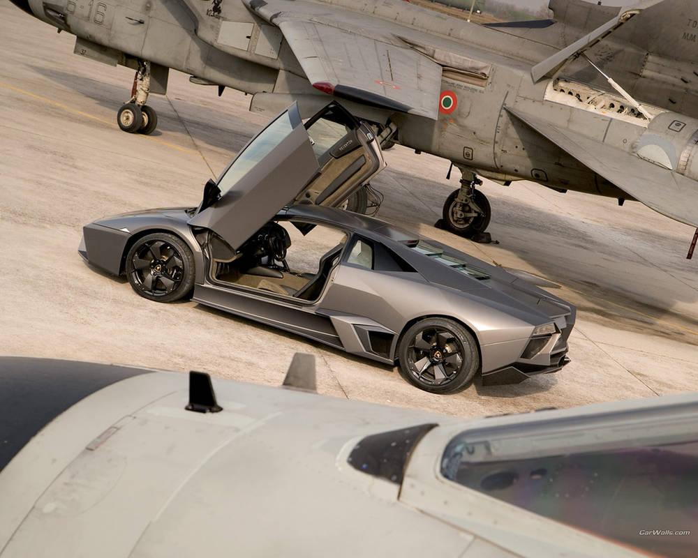Lamborghini Reventon Back By Thecarloos On Deviantart