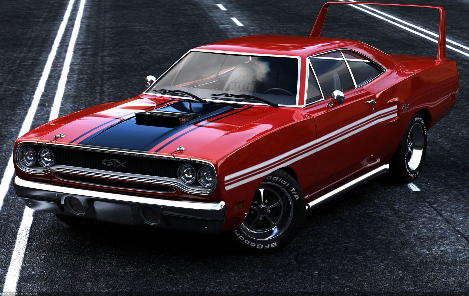 Muscle Car 1970 Plymouth GTX by TheCarloos on DeviantArt