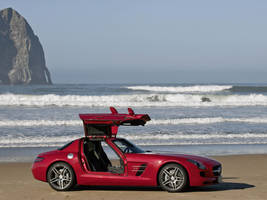 Mercedes-Benz SLS AMG 2011 by TheCarloos