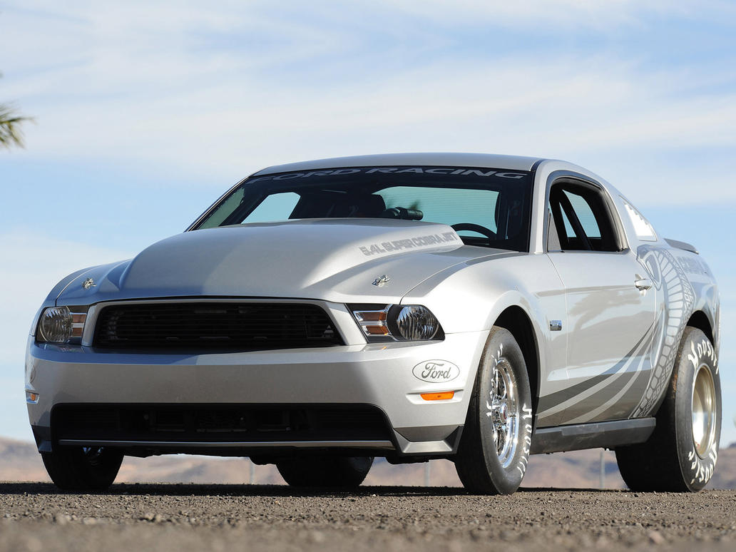 Ford-Mustang Cobra Jet 2010 by TheCarloos