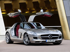 Mercedes Benz SLS AMG 11 by TheCarloos