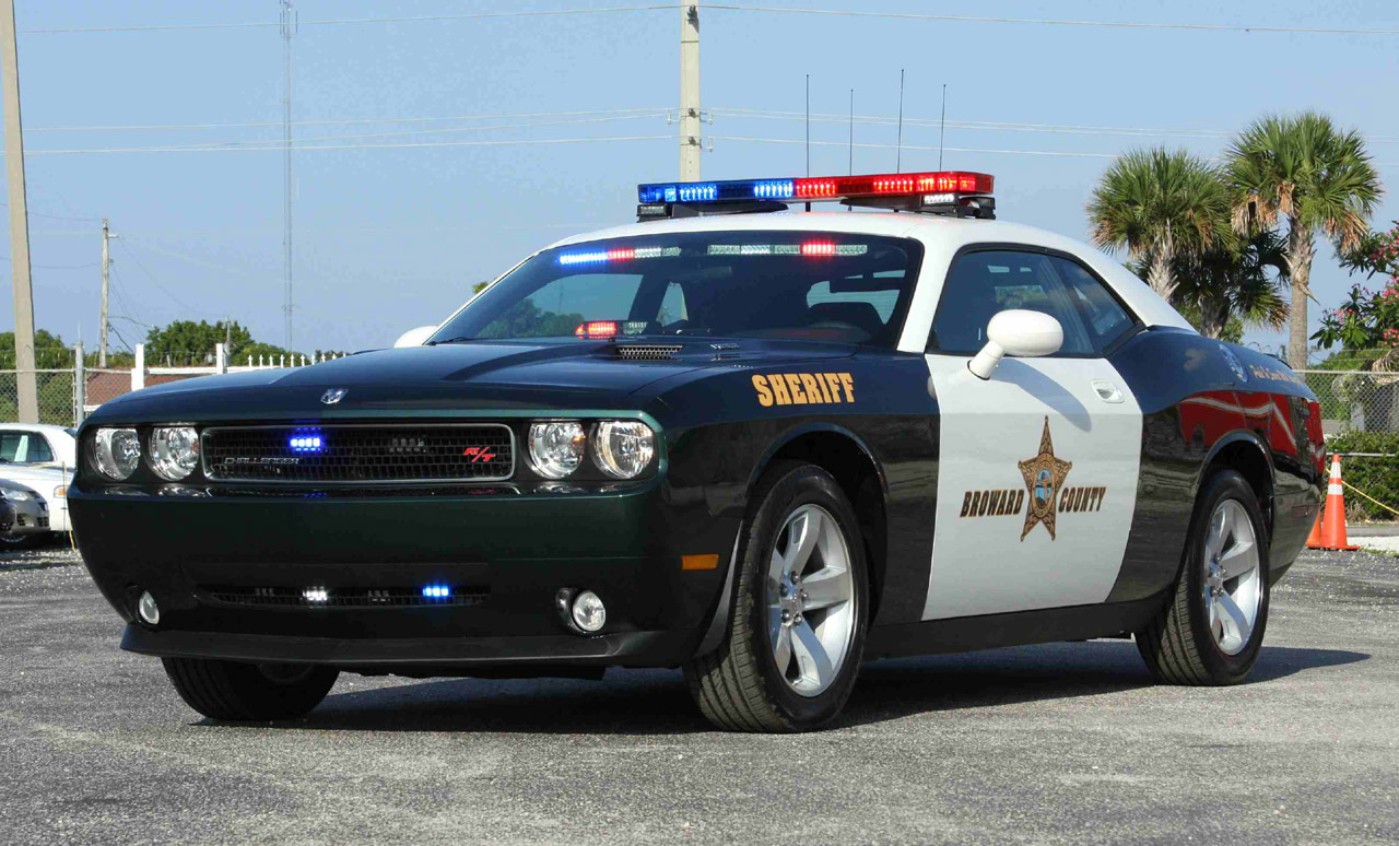 Dodge Challenger RT Police Car by TheCarloos