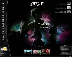 Viva La Vida Rainmeter by reiterman