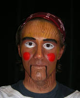 Pinocchio: Theatrical Makeup by WolvesKin