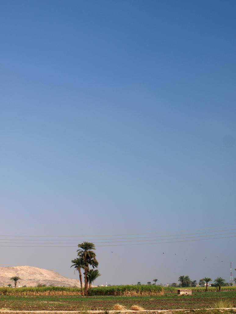 Egyptian Landscape by zinlozetydsbesteding