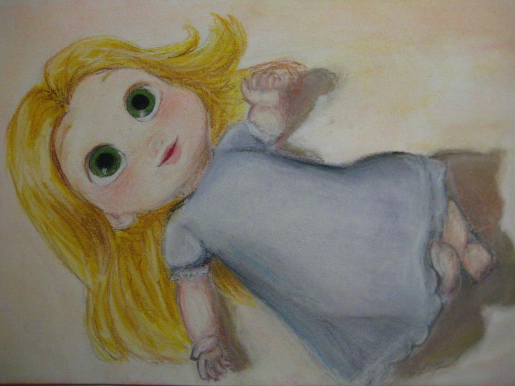 Tangled Baby Rapunzel By Iangelofmusic On Deviantart