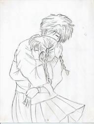 Miaka and Tamahome by iAngelofMusic