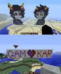 GamKar in MINECRAFT!!!