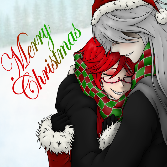 Merry Christmas! {Grell x Undertaker} by DarylsChupacabra ...