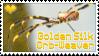 Stamp- Golden Silk Orb-Weaver by DarylsChupacabra