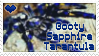 Stamp- Gooty Sapphire Tarantula by DarylsChupacabra