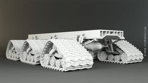 Sno-Fox Cat Full Lower Chassis - WIP by PaulV3Design