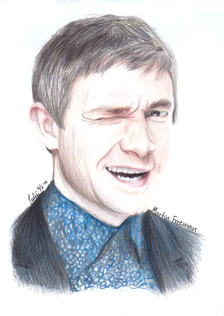 Martin Freeman by Shuploc