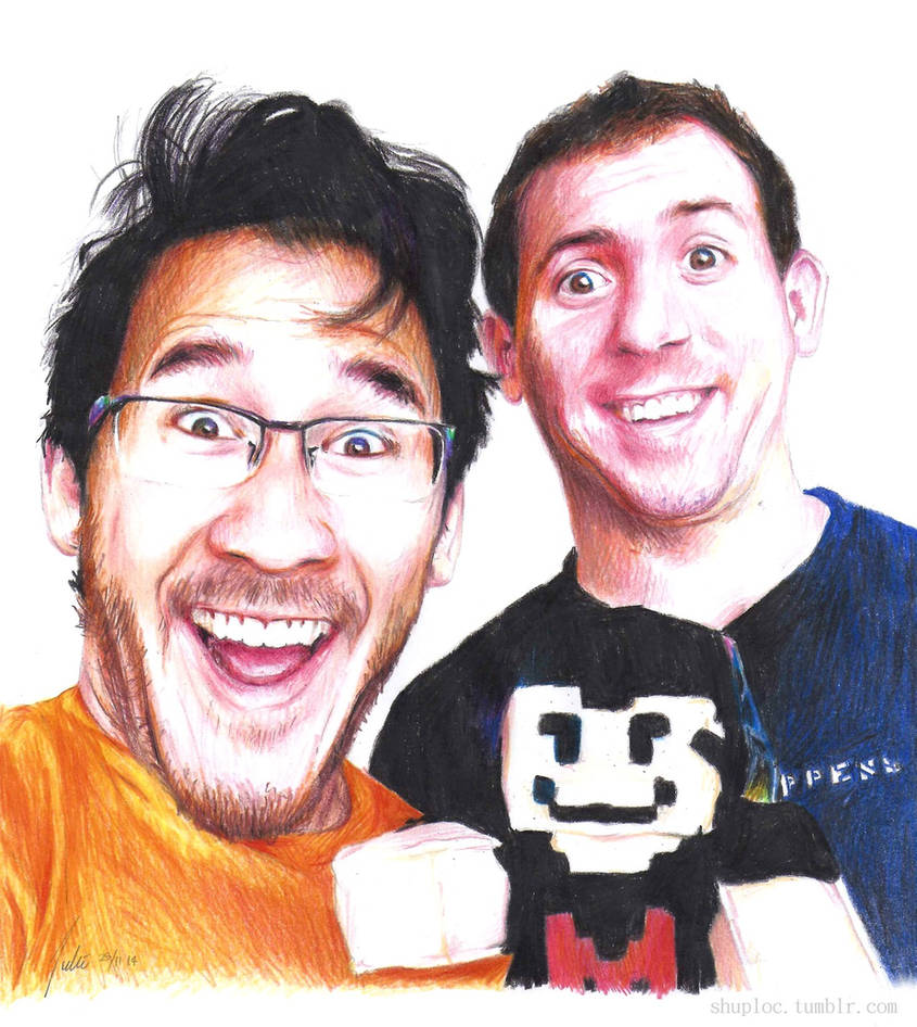 Markiplier and LordMinion777 by Shuploc