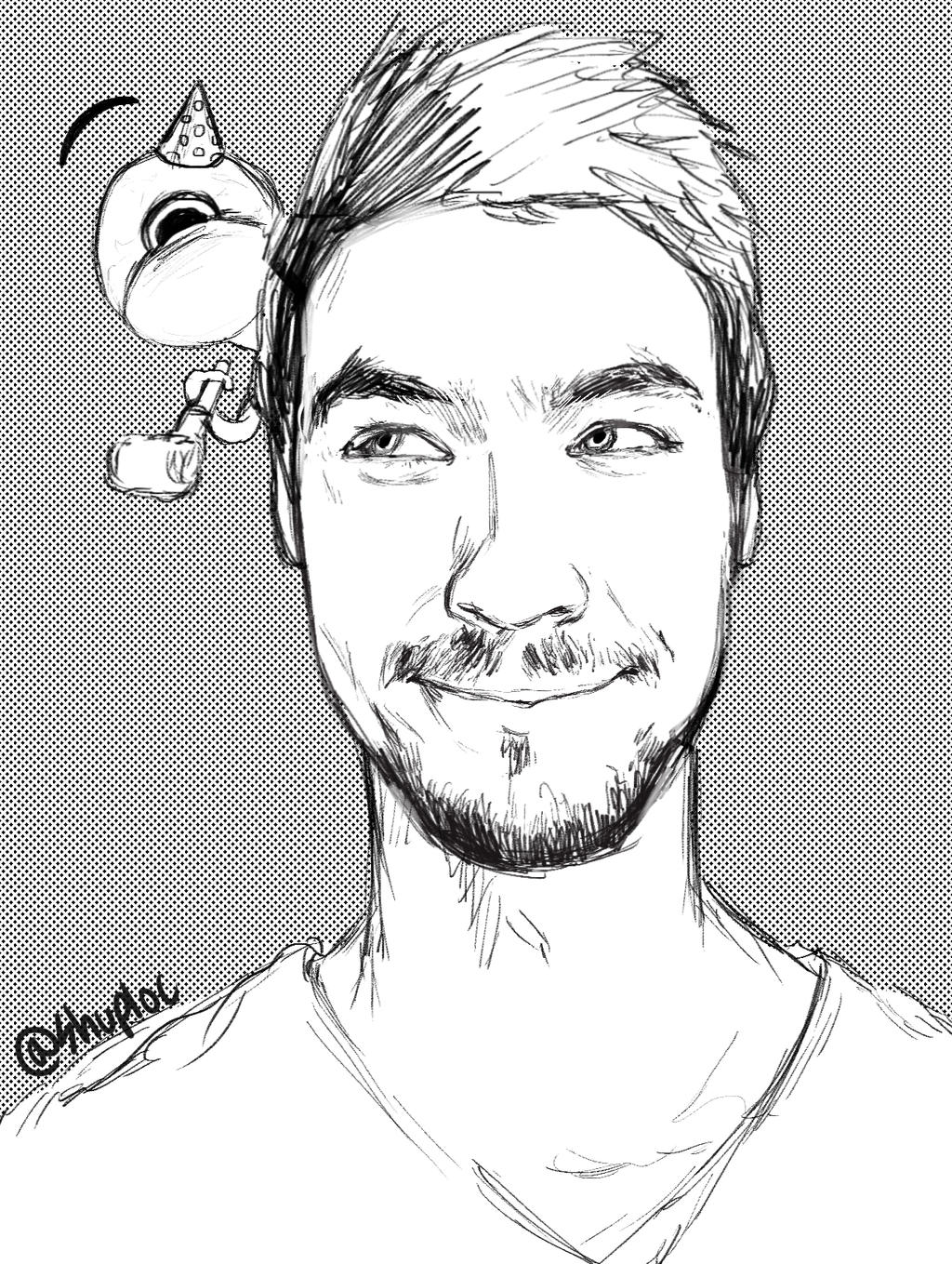 how to draw jacksepticeye sam