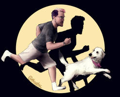 Markiplier and Chica (TinTin)