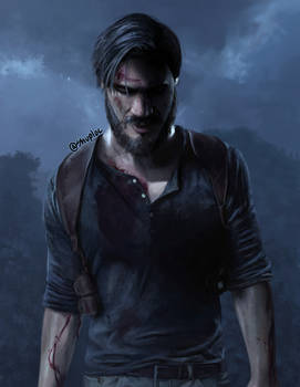 PewDiePie as Nathan Drake (Uncharted 4)