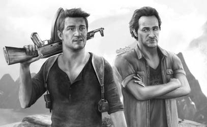 Nathan and Sam (Uncharted 4)