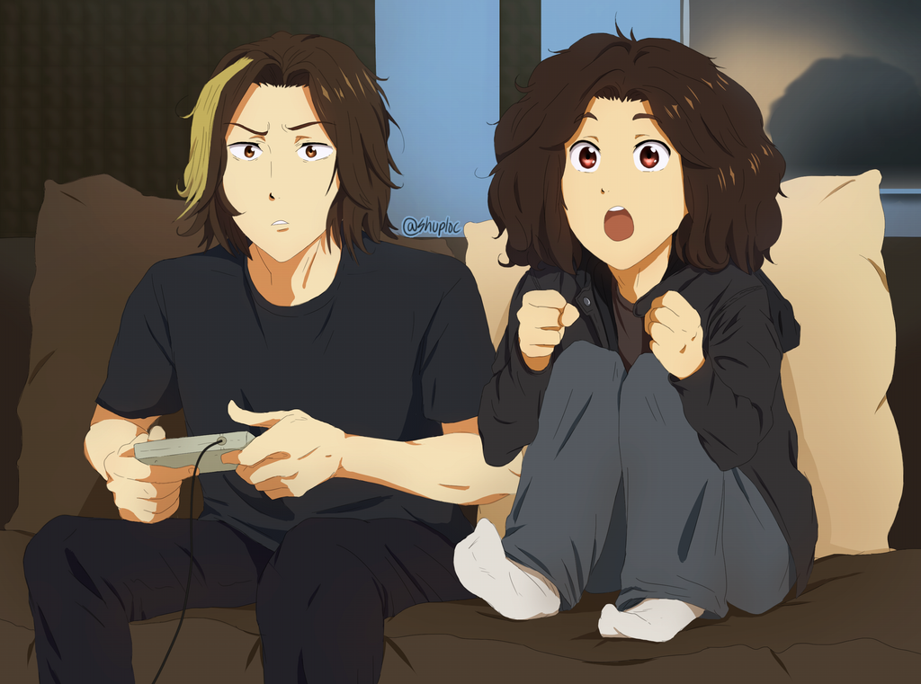 Anime Game Grumps by Shuploc