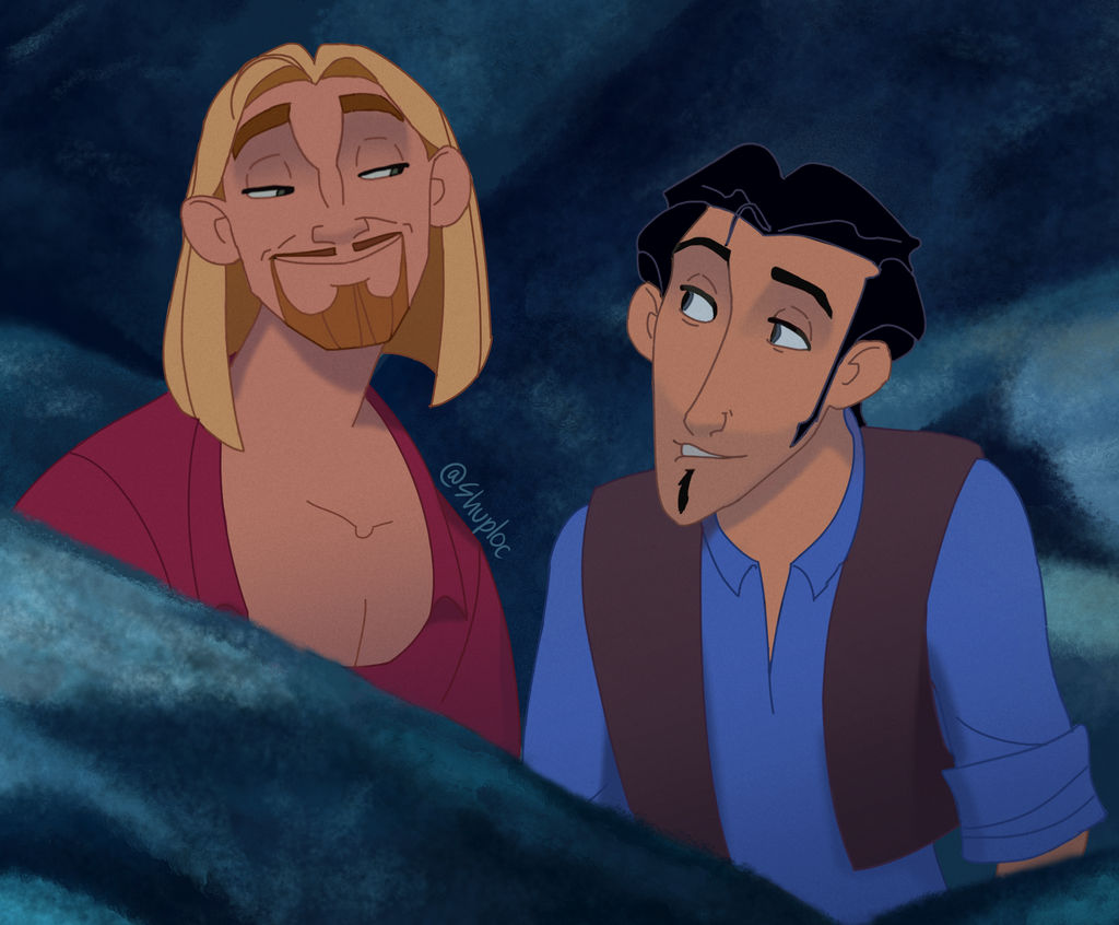 miguel and tulio the road to el dorado by shuploc on